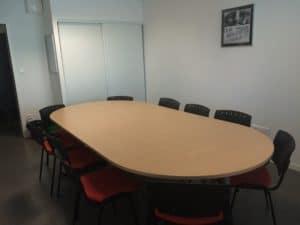Salle réunion 10 personnes Maison régionale des sports Talence