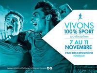 """Le Salon des Sports de Conforexpo rebaptisé  """"Vivons 100% sport"""" pour l'édition 2013 du 7 au 11 novembre"""
