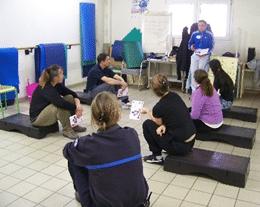 """Programme """"Un Pas'Sport vers la sortie"""" – athlé-santé et escalade pour les détenus de Gradignan"""