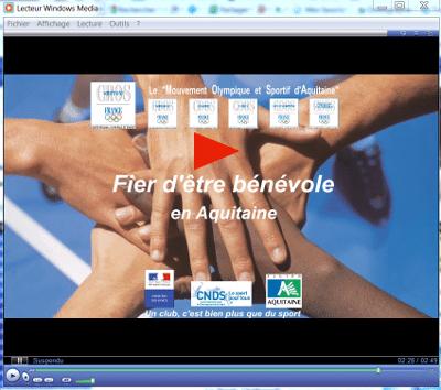 La vidéo de promotion du bénévolat sportif en Aquitaine est en ligne !