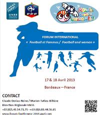 """Forum Sport et Éducation FFF/UNSS sur le thème """"Football et Femme"""""""