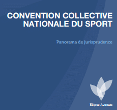 Panorama de jurisprudence relatif à l'application de la Convention collective nationale du sport (CCNS)