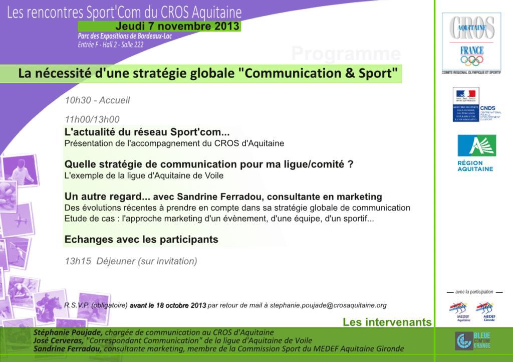 rencontre sportcom071113
