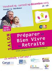 """Le CROS Aquitaine présent au  """"Salon Préparer et Bien vivre sa retraite"""" de la CARSAT Aquitaine"""