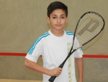 Squash – Toufik MEKHALFI de Casseneuil (47) sur le podium de l'Open junior de République Tchèque