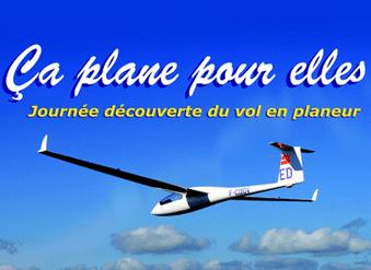 """""""Ça plane pour elles"""" !  – Initiation planeur les 28 et 29 juin 2014 partout en France"""