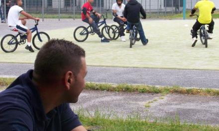 Du BMX entre les murs – Programme « Un pas'sport vers la Sortie »