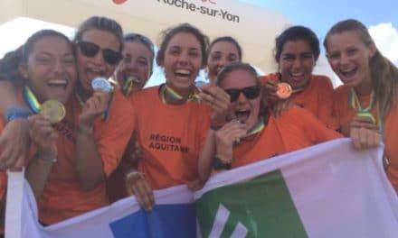 Jeux Nautiques Atlantiques 2014 – Des médailles pour les aquitains lors de la 2e et 3e journées