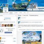 Facebook page sports aériens aquitains
