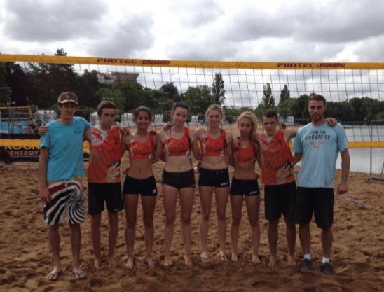 Volleyball – les aquitains s'illustrent lors des Beach Volleyades 2014