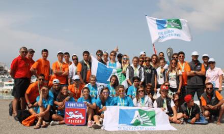 L'Aquitaine en or lors des Jeux Nautiques Atlantiques 2014