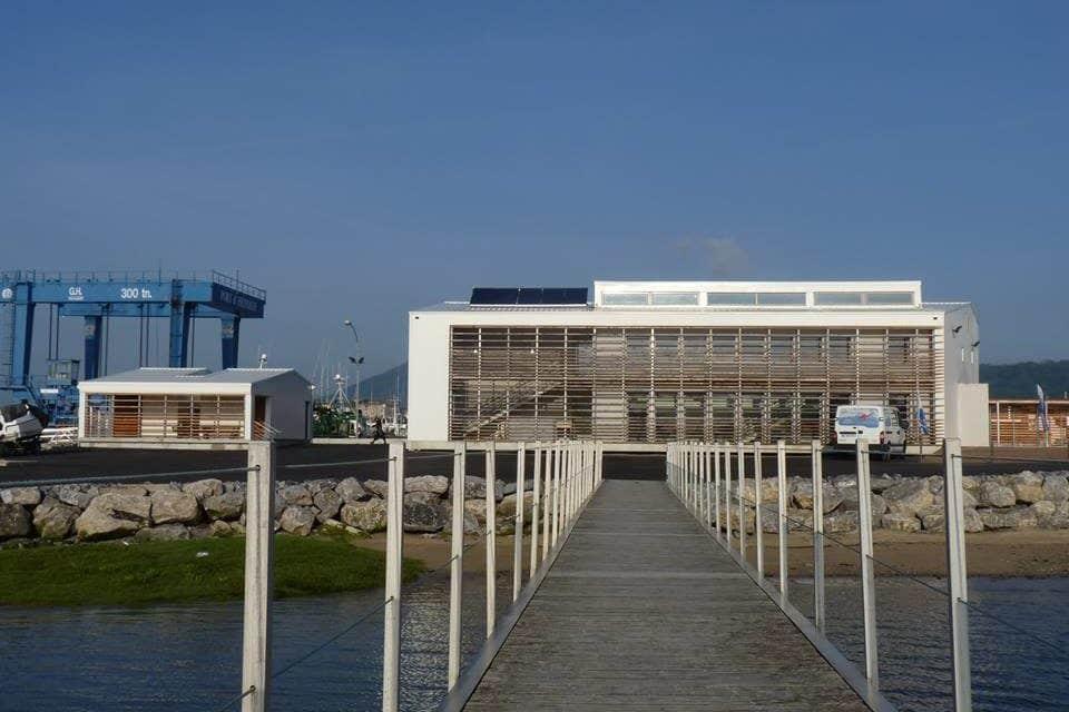Une nouvelle base nautique fédérale de plongée à Hendaye