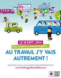 Le CROS d'Aquitaine participe au Challenge de la Mobilité 2014