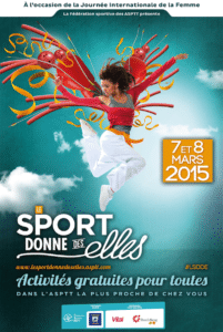 Sport donne des Elles 2015 affiche