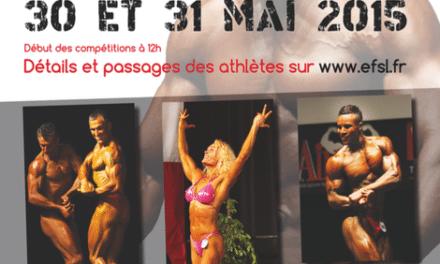 Culturisme et Culturis-Form – Lormont accueille le championnat de France les 30 et 31 mai