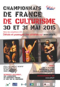 Championnat de France Lormont mai 2015 Culturisme