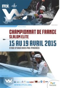 Canoë kayak - Championnat de France Elite Slalom @ Stade d'eaux-vives Pau-Pyrénées  | Bizanos | Aquitaine | France
