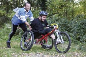Sport handicap Aquitaine - handiTricycle