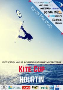 Vol Libre - 1e édition de la Kite Cup d'Hourtin @ Plage - HOURTIN-PORT (33)