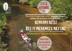 Canoë-Kayak - Rencontre(s) de l'Itinérance nature @ Vallée de La Leyre - PISSOS (40)