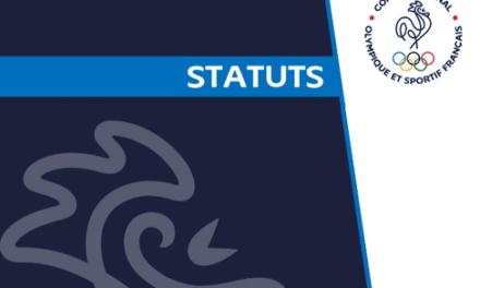 Le CNOSF se dote de nouveaux statuts