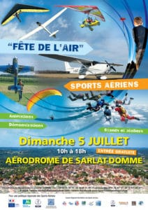 Affiche Fete de l'air 2015 - CROS Aquitaine