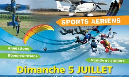 Rassemblement des sports aériens aquitains – 8e« FETE DE L'AIR » le 5 juillet 2015 sur l'Aérodrome de Sarlat-Domme
