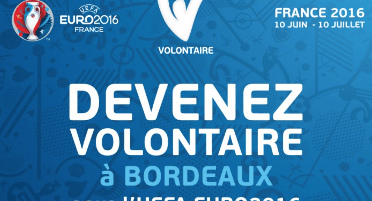 Devenez volontaire pour l'UEFA Euro 2016
