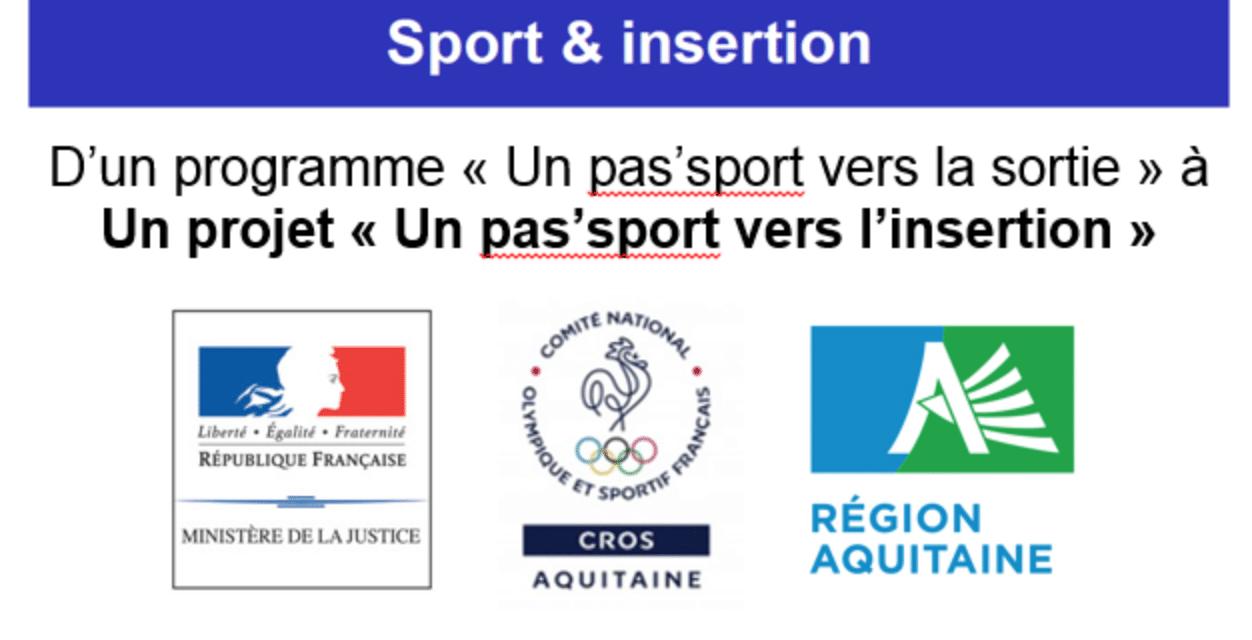 """Insertion – Un """"Pas'sport vers la sortie"""" devient un """"Pas'sport vers l'insertion"""""""