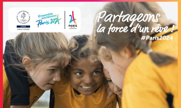 Soutenez la candidature de Paris  pour l'organisation des Jeux Olympiques et Paralympiques d'été 2024 @Paris2024