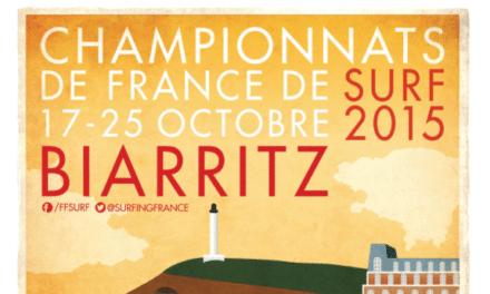 Championnats de France de surf du 17 au 25 octobre à Biarritz