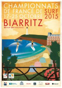 championnats de France de surf du 17 au 25 octobre