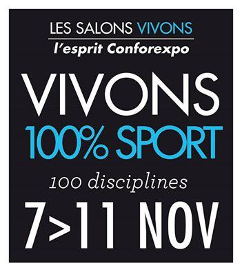Des Ateliers débats sur le Stand du CROS lors du Salon Vivons100% Sport, les 9 et 10 novembre à Bordeaux-Lac
