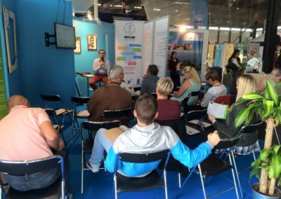 Ateliers débats CROS - Salon sport 2015 Prescription verte