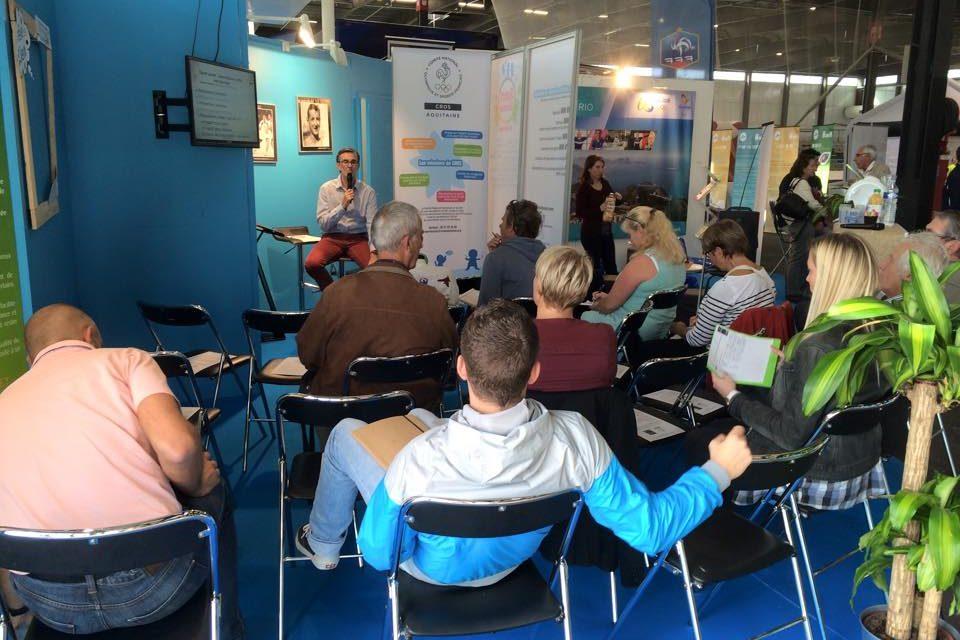 Salon VIVONS 100% Sport du 9 au 13 novembre – Le CROS propose des ateliers débats sur son stand
