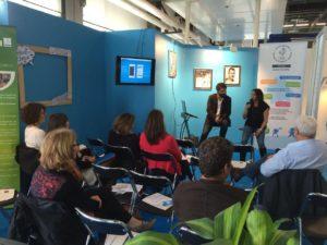 Ateliers débats CROS - Salon sport 2015 Communication Stéphanie Poujade