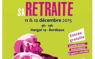 Le CROS Aquitaine présent 11 et 12 décembre sur le « Salon Préparer et Bien vivre sa retraite » avec la CARSAT Aquitaine