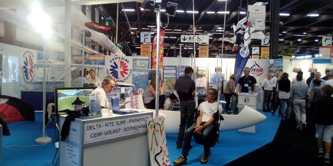 Les sports aériens à l'honneur lors du Salon Vivons 100% Sport de Bordeaux