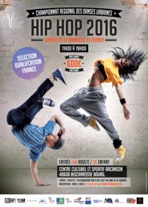 Danse - Champ. Aquitaine Danses Urbaines Hip-Hop 2016 @ Centre Culturel et Sportif L'Arcanson - BISCARROSSE (40)