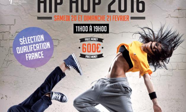 Championnat Régional d'Aquitaine de Danses Urbaines de la Fédération Française de Danse les 20/21 février à Biscarosse