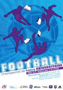 Sport Universitaire - Championnat de France de Football (CFU) @ Terrains synthétiques Universitaires, Plaine Monadey - TALENCE (33)