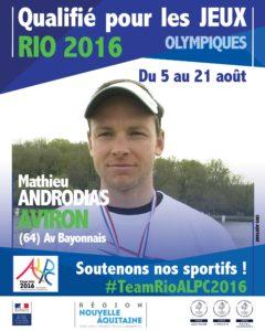 Aviron Androdias RIO #TeamRioALPC2016
