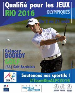 Golf Bourdy RIO #TeamRioALPC2016