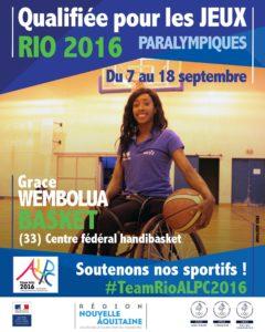 H Basket Wembolua RIO #TeamRioALPC2016