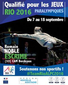 H Escrime Noble RIO #TeamRioALPC2016
