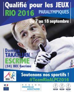 H Escrime Tokatlian RIO #TeamRioALPC2016