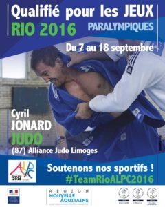 H Judo Jonard RIO #TeamRioALPC2016