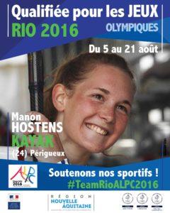 Kayak Hostens Rio #TeamRioALPC2016