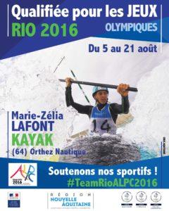 Lafont #TeamRioALPC2016