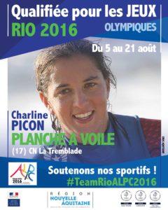 Planche à voile Picon RIO #TeamRioALPC2016